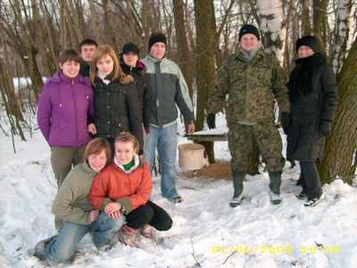 Akcja: dokarmianie zwierząt 2009