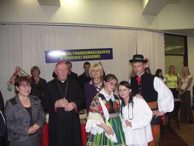 V Zjazd Młodzieży Szkół Rolniczych Archidiecezji i Województwa Łódzkiego- X 2008r.