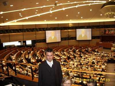 Olimpijczycy z ZSP w Zduńskiej Dąbrowie z wizytą w Brukseli